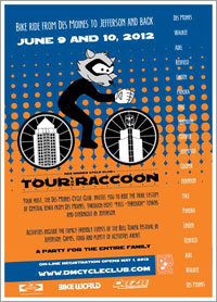 Tour The Raccoon 2012