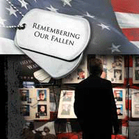 Remembering Our Fallen Exhibit - Adel Iowa