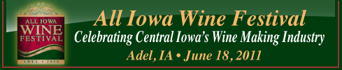 All Iowa Wine Festival - Adel, IA