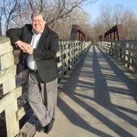 Van Harden Trestle Bridge in Adel Iowa