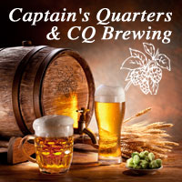 Captains Quarters and CQ Brewing - Adel Iowa