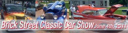 Adel Brick Street Classic Car Show
