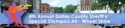 Dallas County Sheriff's Special Olympics All-Wheel Show