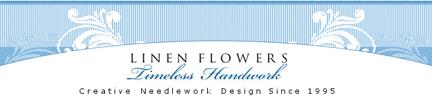 Linen Flowers - Timeless Handiwork - Adel Iowa