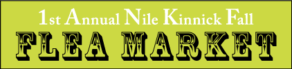 Nile Kinnick Fall Flea Market October 9th Adel Iowa