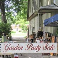 Garden Party Sale - Adel Iowa