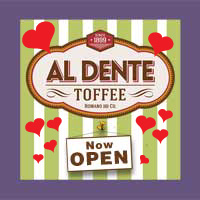 Al Dente Be Mine Toffee - Adel Iowa