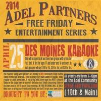 April Free Friday Adel Iowa
