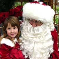 Santa at Adel Holiday Open House