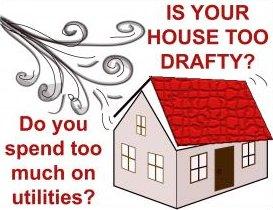 drafty house