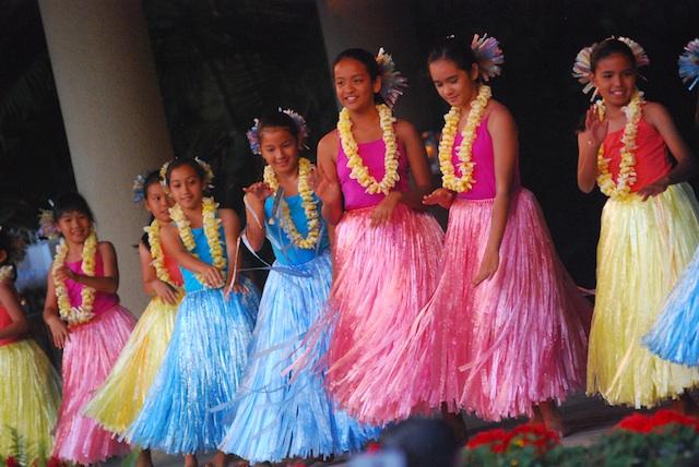 Pua Ali'i 'Ilima Keiki at Hapa Haole Hula Festival