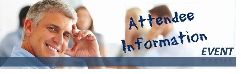 ARA Event Header Attendee Info