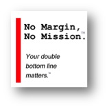 No Margin, No Mission Square Logo w/ Shadow
