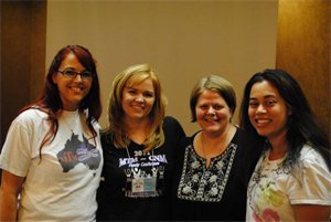 Shannon, Chrissie, Erin, and Marie