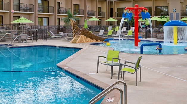 Come lounge poolside at Best Western