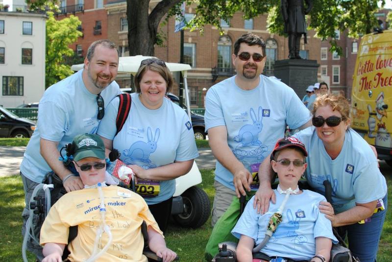 Wards and Grants at NSTAR Walk 2012