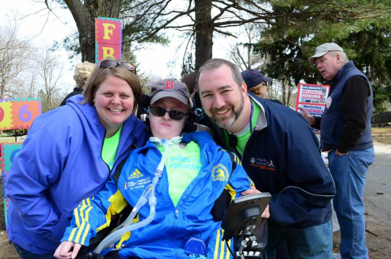 Wards at Boston Marathon