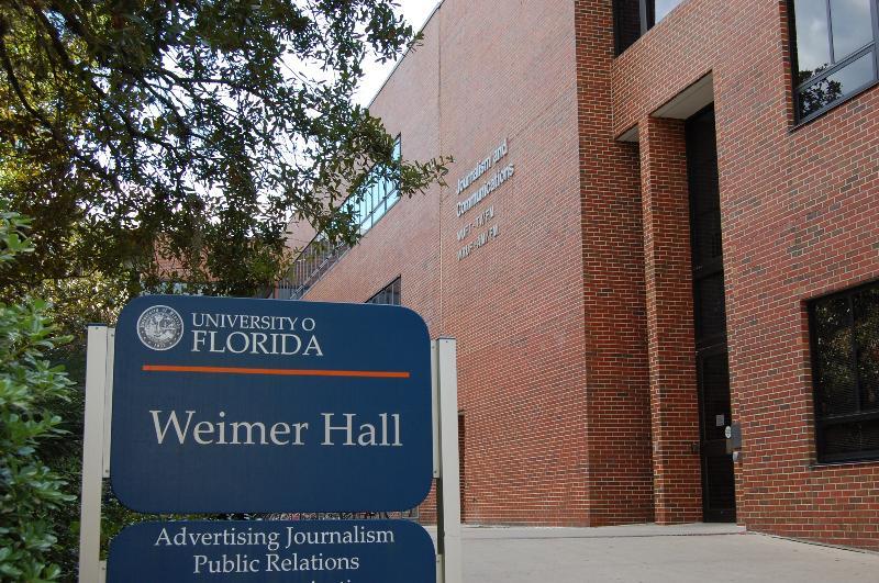 Weimer Hall Flanigan Entrance