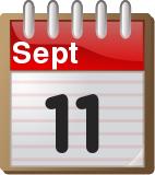 calendar September 11
