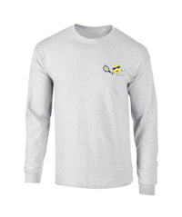 Hanes Ash Long Sleeve T-Shirt