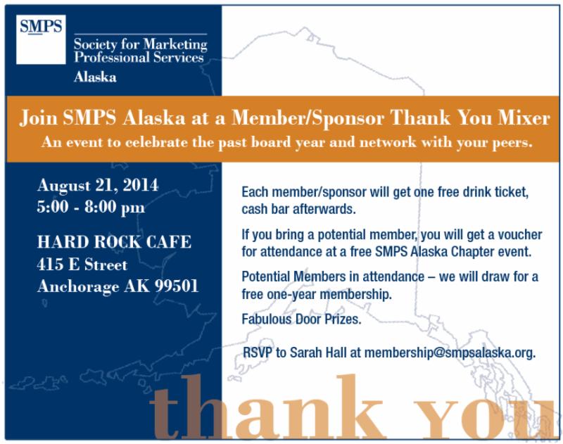 SMPS AK Member/Sponsor Event