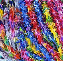 Senbazuru - Thousand origami cranes