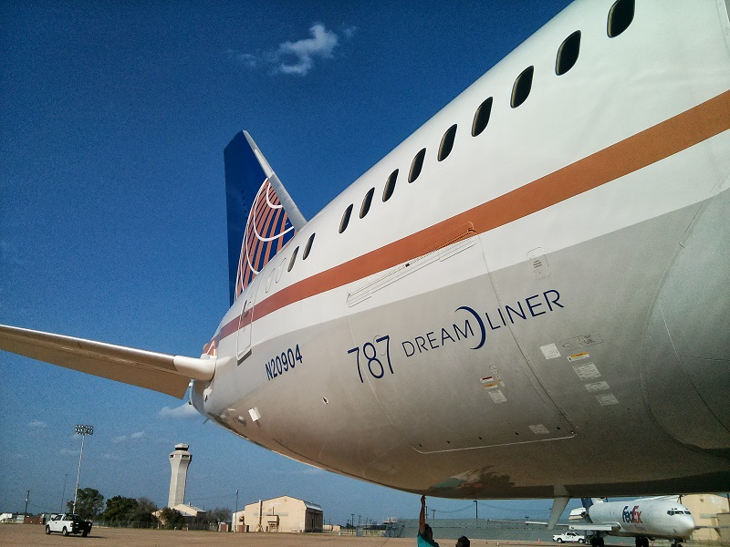 787 Dreamliner Austin Airport
