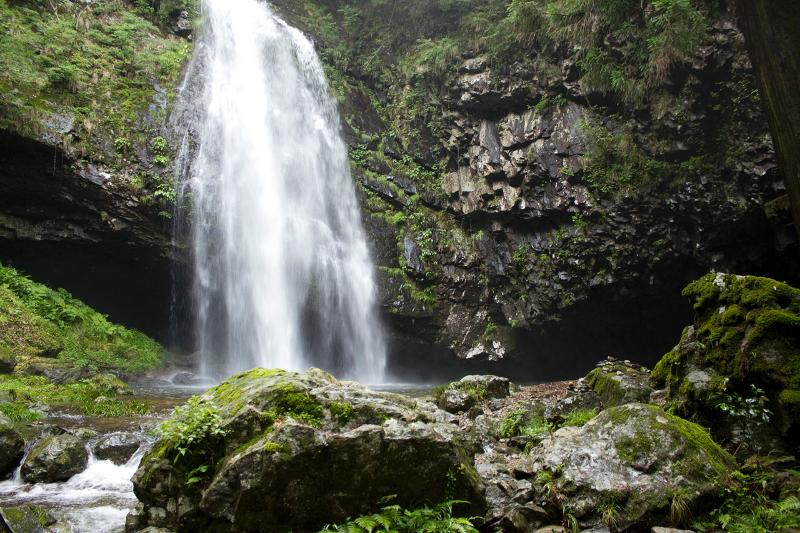 waterfall in coutryside of Shimane Pref