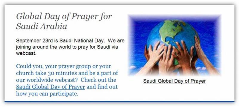 Global day of prayer for saudi arabia window for 10 40 window prayer points