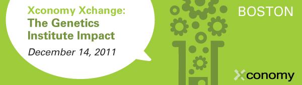 Xconomy Xchange: The Genetics Institute Impact