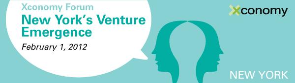 Xconomy Forum: New York's Venture Emergence