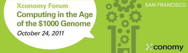 Xconomy Forum: Computing in the Age of the $1000 Genome