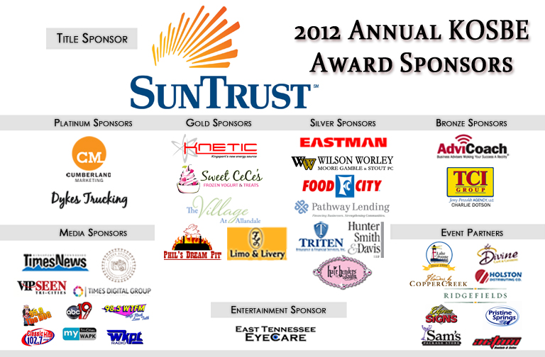 2012 KOSBE Sponsors