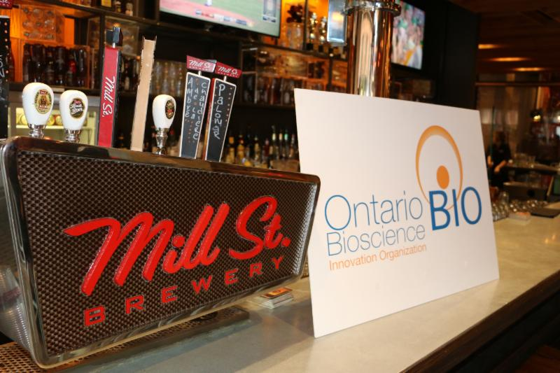 OBIO & Blakes Pre-RESI Beer Tasting at Mill St Brewery