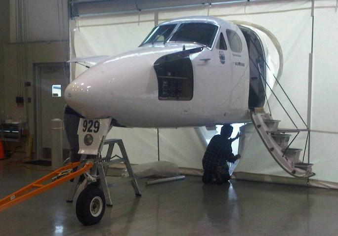NT Air's Beech 1900C
