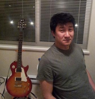 Andy & guitar