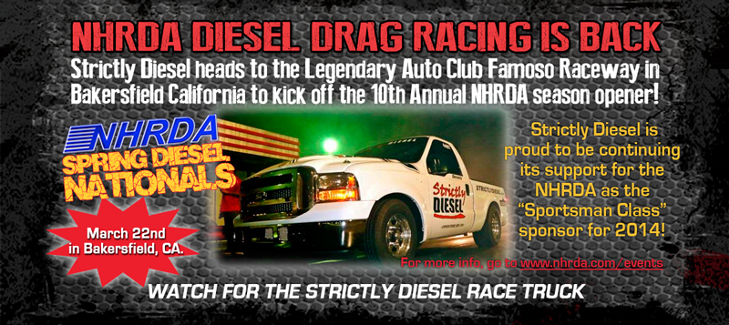 News from Strictly Diesel