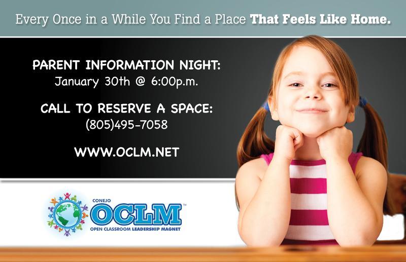 OCLM ad - info night 2012