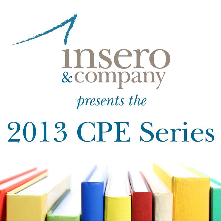 2013 CPE Series