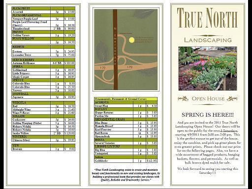 TNL Open House Brochure