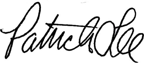 Mr. Lee Signature