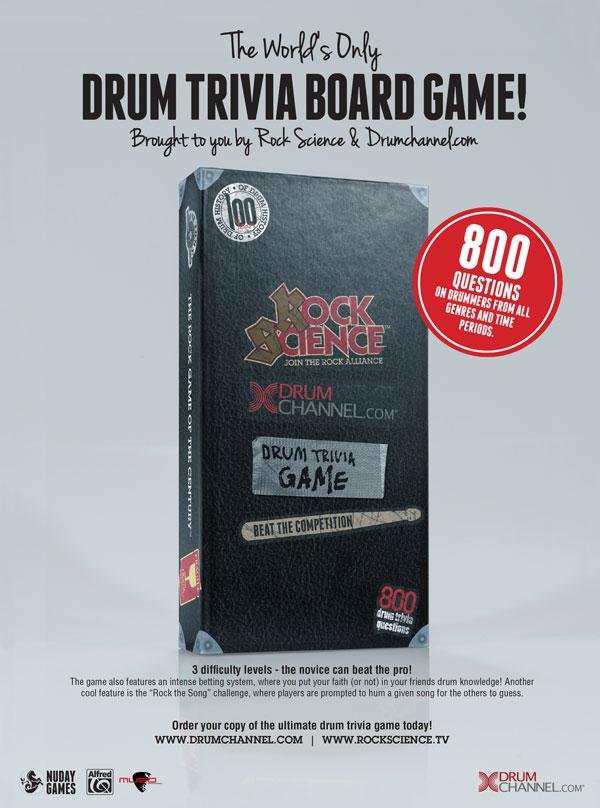 Drum Trivia Board Game
