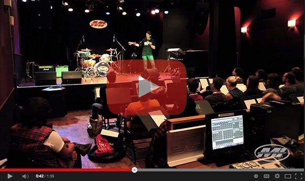 YouTube link to Jason Sutter at Musicians Institutes Summer Shot 2014