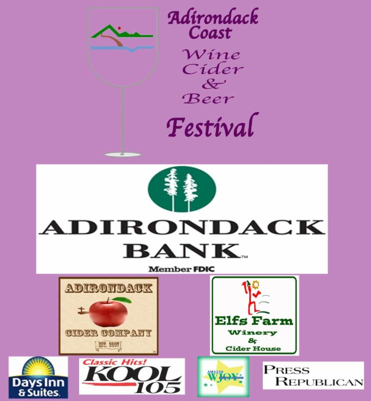 2014 Adirondack Coast Wine, Cider Beer Festival logo