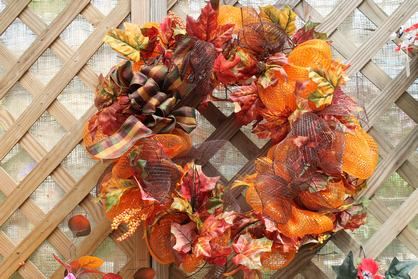 Wreath Of Autumn Joy