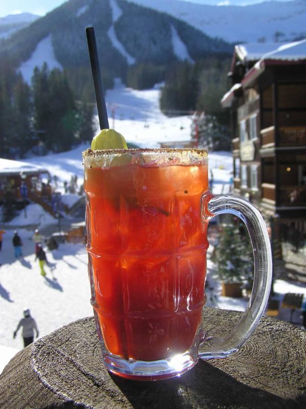 Apres ski drink