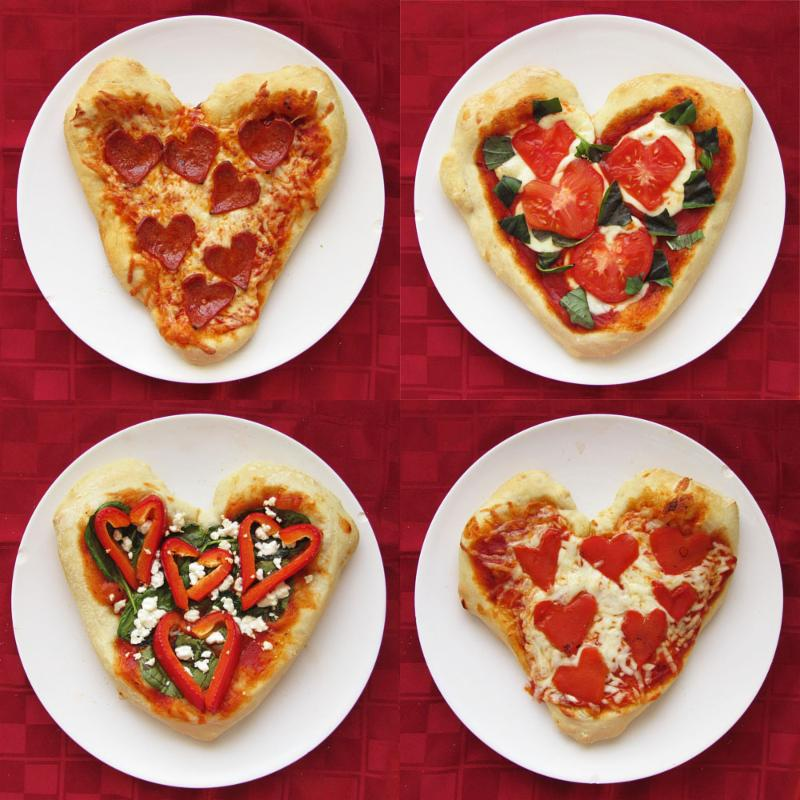 Vday pizzas