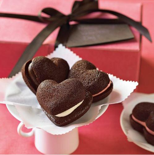 Valentines Whoopie Pies
