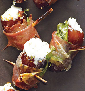 Dates w Goat Cheese