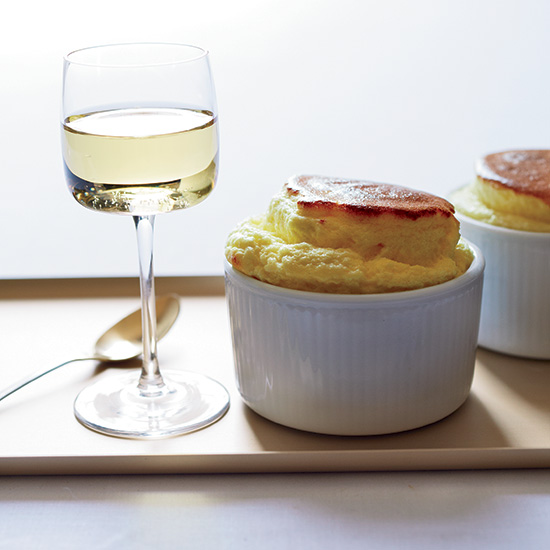 Reisling and Sweet Souffle